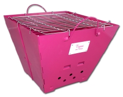 Pinker Grill im Tussi on Tour Shop